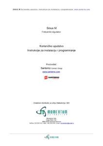 thumbnail of Sinus M uputstvo